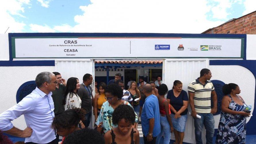 """Resultado de imagem para Prefeitura inaugura CRAS Ceasa completamente requalificado"""""""