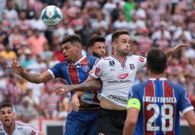 Copa do Nordeste: Bahia empata em 0X0 com o  Santa Cruz em Recife