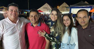 Deputado Marquinho Viana na festa do Senhor do Bonfim, em Érico Cardoso