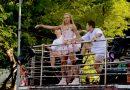 Pablo Vittar arrasta pipoca colorida pela primeira vez no Circuito Osmar