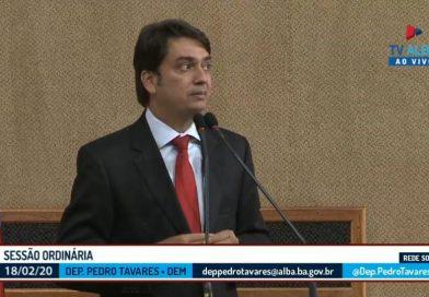 Pedro Tavares denuncia onda de assaltos na Estrada do Feijão