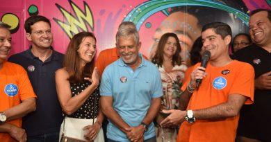 Sala de Imprensa Oficial do Carnaval é inaugurada no Campo Grande