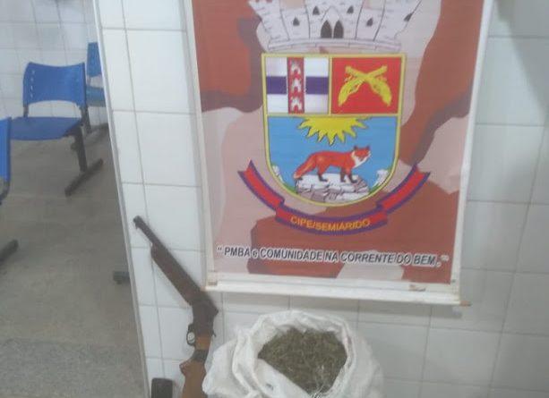 Acusado de tráfico de drogas morre em confronto com a polícia no município de Ourolândia