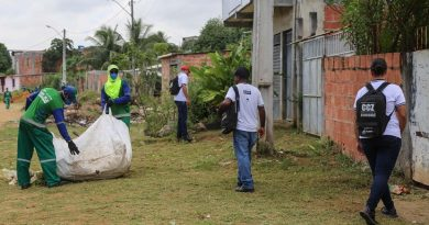 Operação Dengue já recolheu mais de 600 toneladas de lixo em três meses