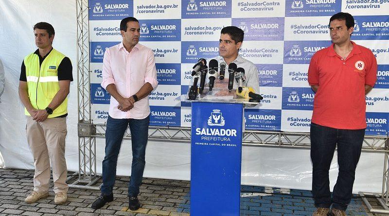 Salvador ganha blitze de testagem rápida contra coronavírus