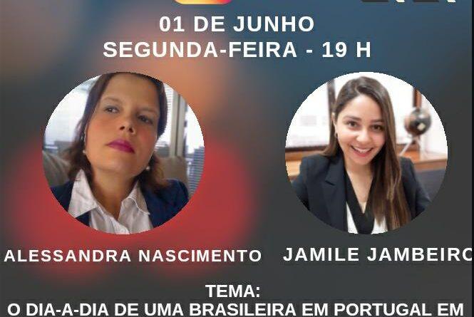 Alessandra Nascimento entrevista advogada Jamile Jambeiro em live nesta segunda, 01