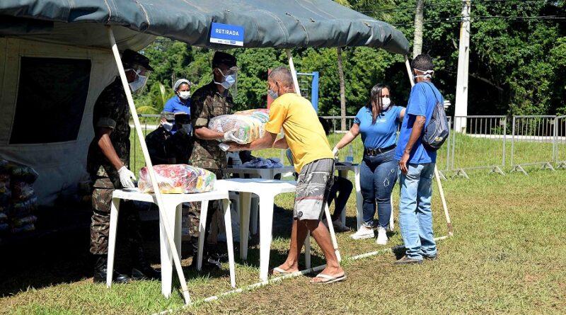 Entrega de cestas básicas termina nesta quinta-feira (4) em Salvador