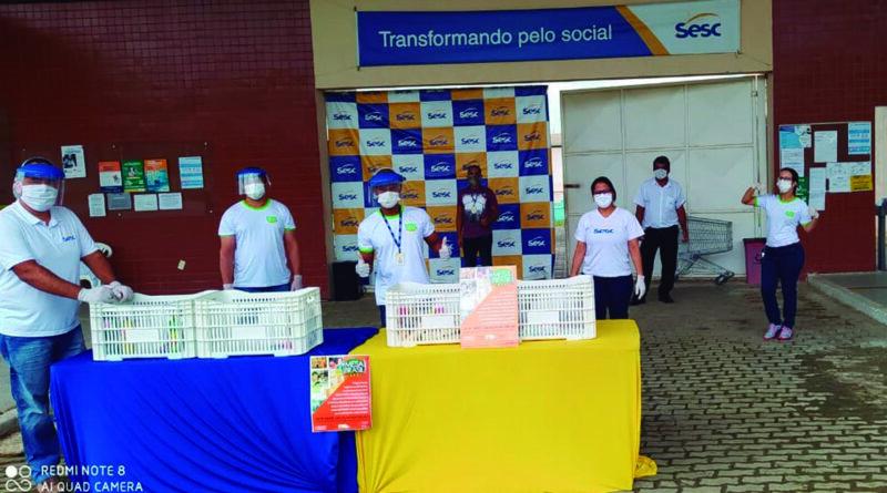 SESC/BA REALIZA NOVA EDIÇÃO DO DRIVE THRU SOLIDÁRIO EM SALVADOR E 7 CIDADES DO INTERIOR