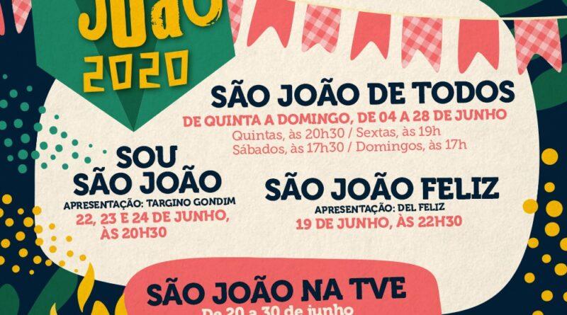 TVE exibe programação especial em homenagem ao São João