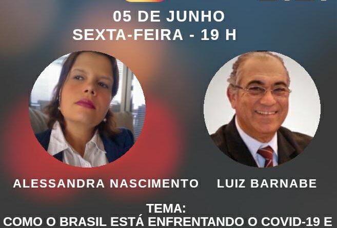 Alessandra Nascimento entrevista vice-presidente da Ordem dos Economistas do Brasil