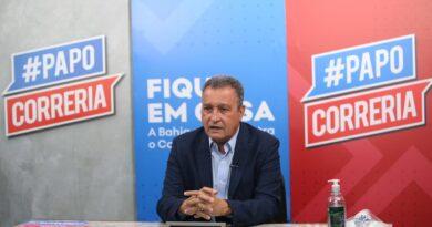 Governador Rui Costa anuncia ampliação do número de testagens para a Covid-19 na Bahia