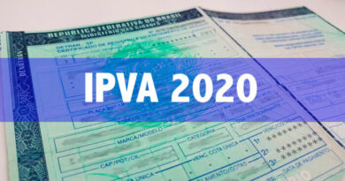 Donos de veículos com placas de final 9 e 0 ainda podem pagar o IPVA no prazo