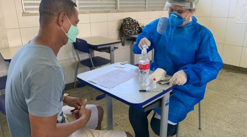 Começa testagem para novo coronavírus nas escolas estaduais de Itabuna e Ilhéus