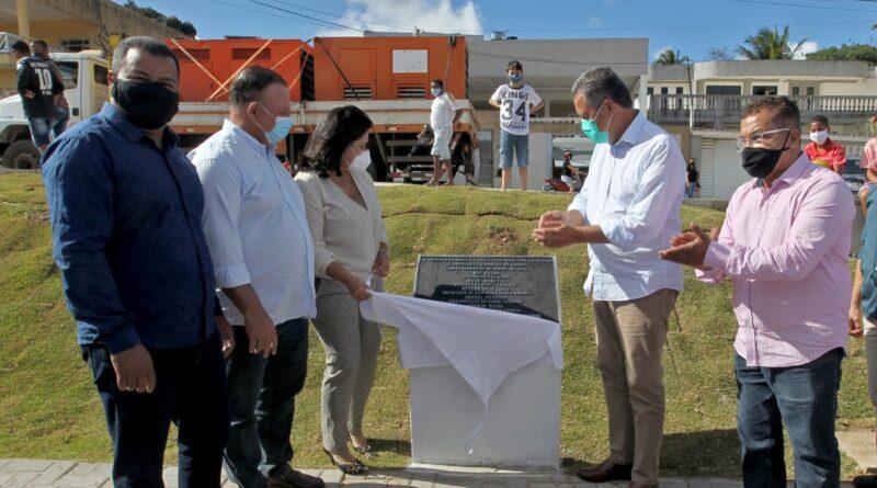 Em Campo Formoso, Rui entrega escola para comunidade quilombola e inaugura parque ecológico