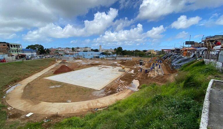Obras da Arena Pronaica devem ser concluídas em setembro