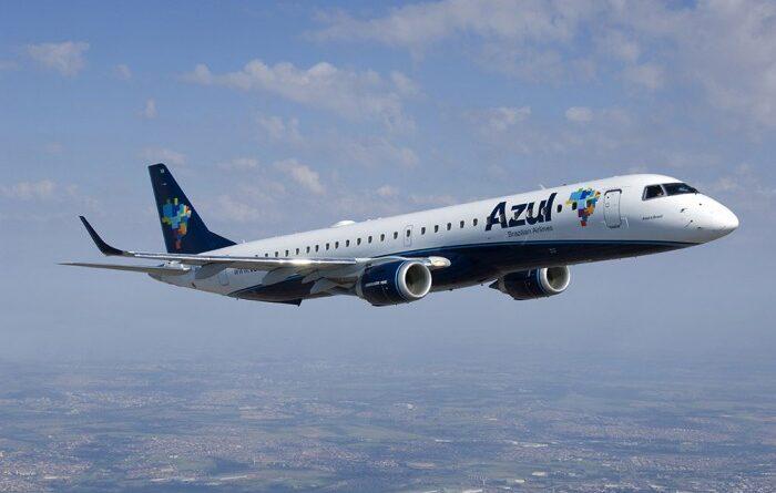 Azul terá 64 voos adicionais para o feriado de 7 de setembro
