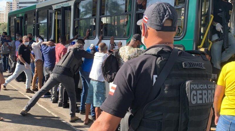 Gerrc aborda 40 ônibus durante operação em Salvador