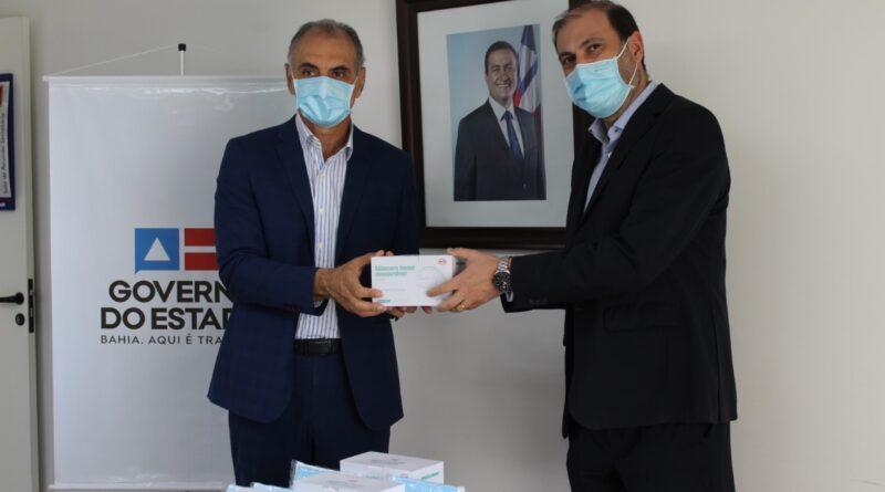 Sedur recebe 50 mil máscaras de proteção da Skyrail para comunidades carentes