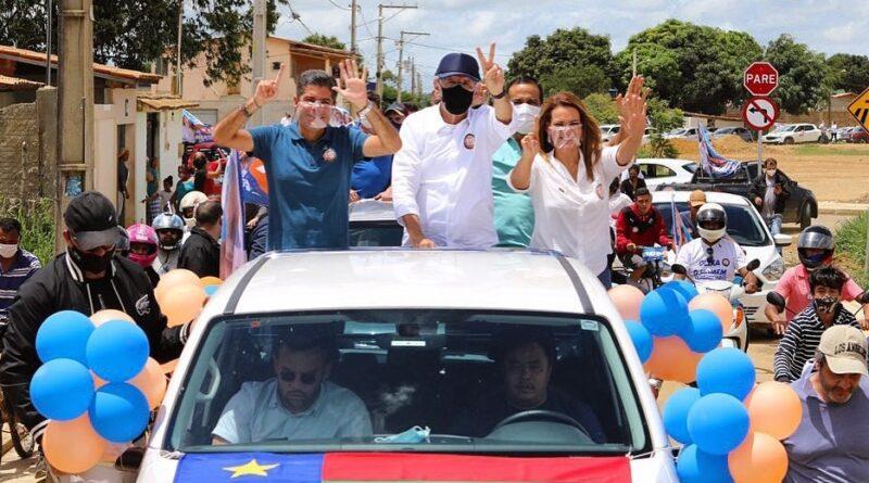 Radialista Herzem Gusmão é reeleito prefeito de Vitória da Conquista