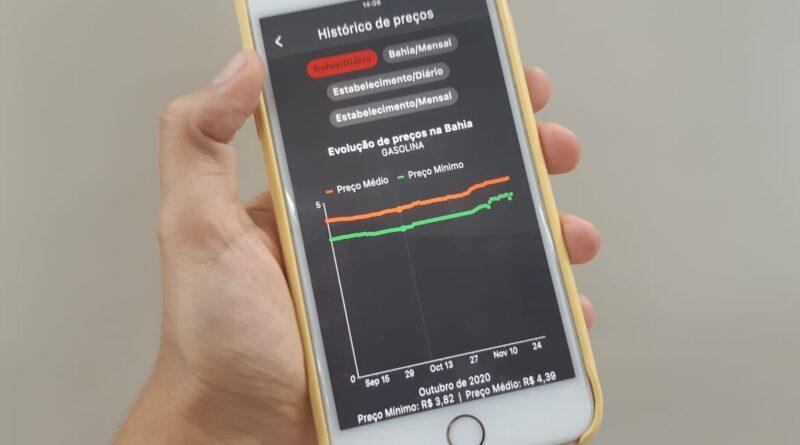 App Preço da Hora Bahia tem novas funcionalidades para o usuário