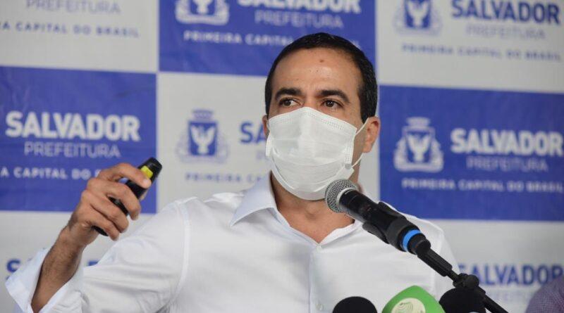 Bruno Reis comemora aprovação de vacinas Coronavac e AstraZeneca