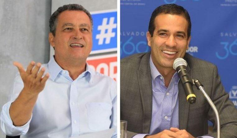 Bruno Reis e Rui Costa iniciam vacinação em Salvador nesta terça (19)
