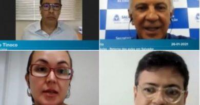 Volta às aulas em Salvador é discutida em webinar