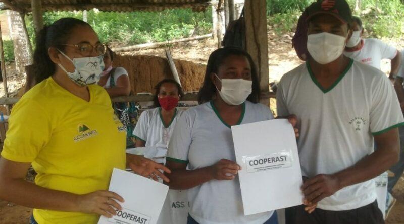 Cooperativa promove atividades para agricultores familiares de Una