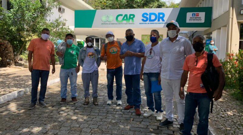Por intermédio de Valmir, Cecaf apresenta demandas à Cerb e à SDR para destravar ações em comunidades tradicionais