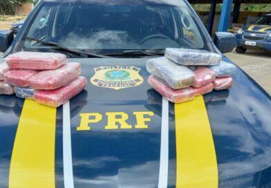 PRF apreende cloridrato de cocaína escondido dentro de ônibus na Chapada Diamantina