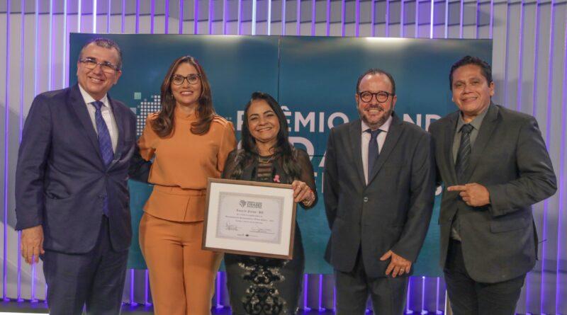 Lauro de Freitas é 1º lugar no Prêmio Band Cidades Excelentes em Desenvolvimento Socioeconômico e Ordem Pública